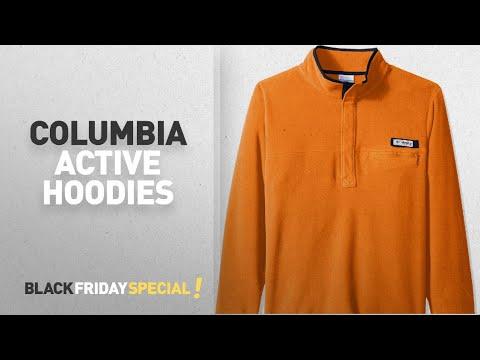 Columbia Active Hoodies Black Friday: Columbia Sportswear Men's Harborside Fleece Pullover,