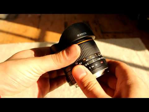Samyang 8mm Fisheye Lens Review with samples