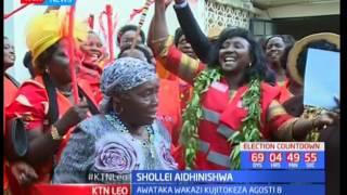 Gladys Boss Shollei aidhinisha na Tume ya Uchaguzi na Mipaka