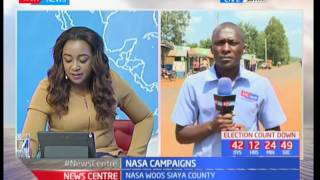 NASA takes campaigns to Siaya county