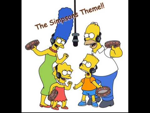 The Simpsons Theme (School Days)+Lyrics!!