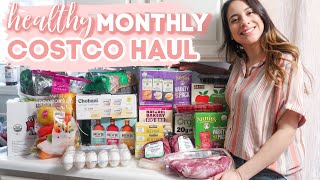 2020 MONTHLY COSTCO GROCERY HAUL ORGANIC | February healthy what I buy on a budget family of 4