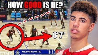 How GOOD Is LaMelo Ball Actually? (Ft. NBA Potential, Shots, & More Deep Shots)