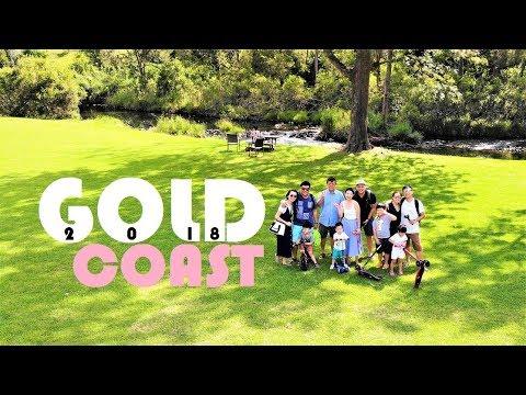 Family trip Gold Coast Australia 2018