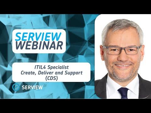 ITIL® 4 Specialist - Create, Deliver and Support (CDS) - YouTube