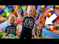 SWIMMING POOL BALL PIT SURPRISE!