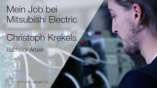 Bachelorarbeit bei Mitsubishi Electric CNC-Service