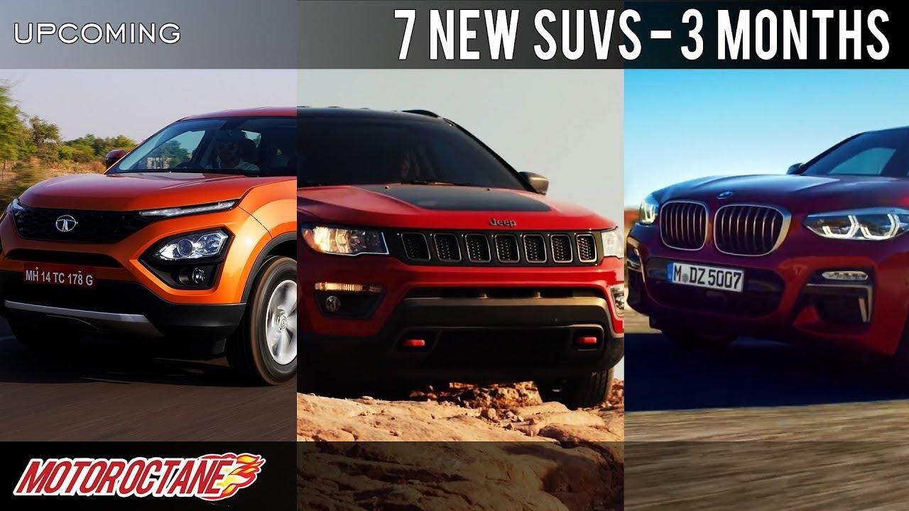 Motoroctane Youtube Video - 7 New SUVs Coming in 3 months | Hindi | MotorOctane