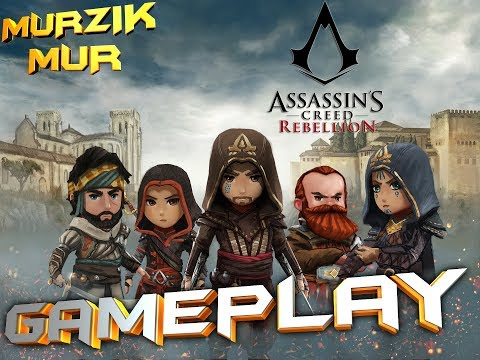 assassin's creed rebellion gameplay mission 3 Перо и Меч