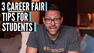 Career Fair Tips For Students 3 Tips 2018