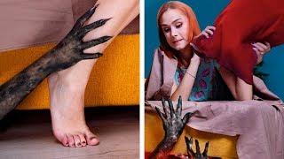 Как защитить себя от монстров / 13 лайфхаков для Хэллоуина