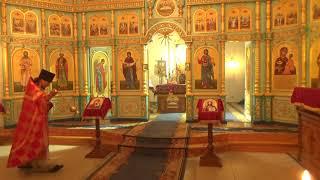 Пасхальная служба в храме 6