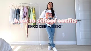 CASUAL BACK TO SCHOOL OUTFITS