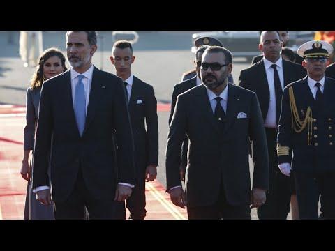العرب اليوم - شاهد: ملك إسبانيا يصل إلى المغرب في زيارة رسمية لمدة يومين