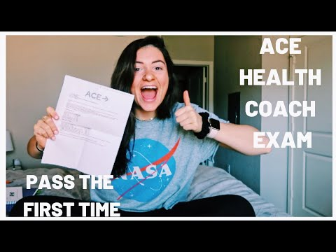 ACE HEALTH COACH EXAM//tips+tricks+how to pass the first time ...
