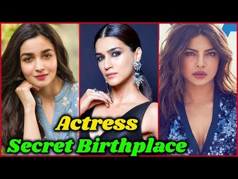 Unknown BirthPlaces of Bollywood Actresses