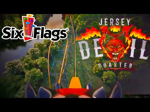 Six Flags Great Adventure Jersey Devil Coaster On-Ride POV!