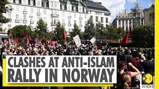 Norway | Anti-Islam protesters ripped pages from Muslim holy book | Anti-Islam rally | World News - Download this Video in MP3, M4A, WEBM, MP4, 3GP