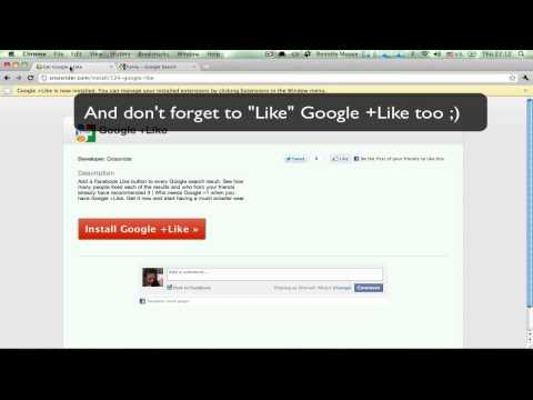 Google +Like Sorts Through Search Results By Facebook Popularity