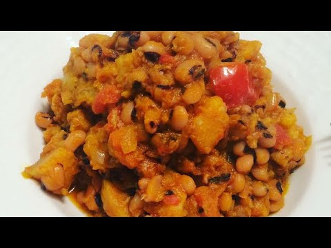 How To Make Black Eyes Beans And Plantain |NIGERIA FOOD RECIPE