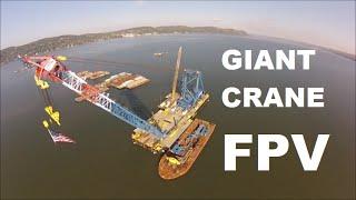 DJI F450 X8 Heavy Lift Evolution Giant Crane FPV flight part #13