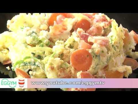 Ovos coloridos: prático e saudável