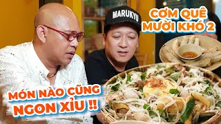 Truong Giang personally makes his superb chicken salad and termite mushroom for Color Man