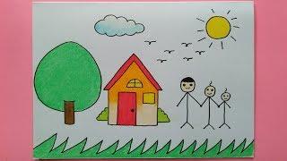 76+ Gambar Rumah Utk Anak Tk Terbaik