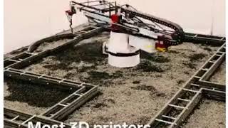最新「3D打印技術」應用:建屋