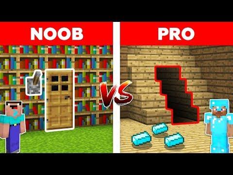 Minecraft NOOB vs PRO: SECRET ROOM in Minecraft! Animation