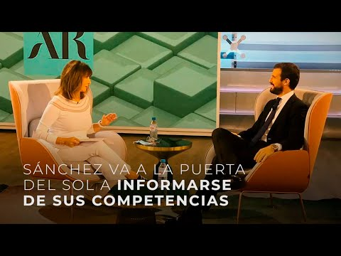 Sánchez va a la Puerta del Sol a informarse de sus competencias