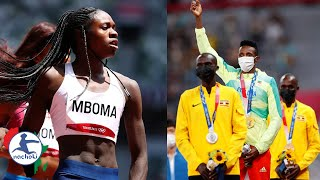 Banned Namibian Sprinter Show Olympic Revenge By Winning Silver, Africa Wins Many Medals now at 19