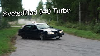 Volvo 940 Drifting, Testar Aga-diffen - Vlogg 044