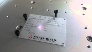 Mini Laser engraving Machine For Aluminum Metal Plate