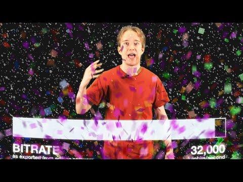 Proč sníh a konfety zhoršují kvalitu videa