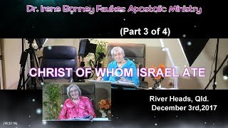 (Part 3 of 4) Christ of whom israel ate