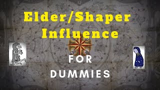 [Path of Exile] Elder/Shaper influence your map in 4 Simple Steps!