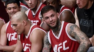 Garbrandt and Dillashaw engage in war of words during weigh-ins | THE ULTIMATE FIGHTER