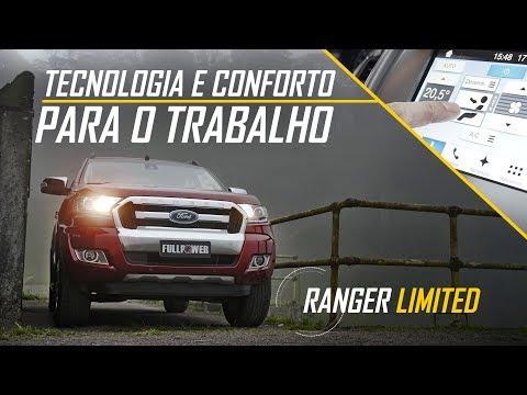 Tecnologia pro trabalho - Ford Ranger Limited e seus recursos #publicidade