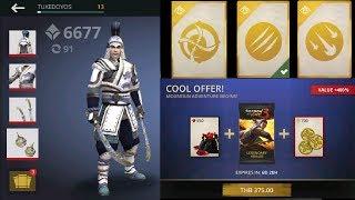 Shadow Fight 3 : Dragon Lesson Pack + Win Dragon Lesson Grand Battle + Dragon Snow Full Set