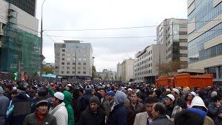 Курбан-байрам в Москве 2014
