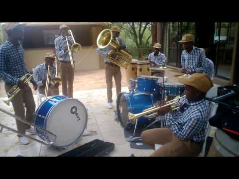 Sankomota, u're waiting for your name to be called by Mminatlou brass Ensemble
