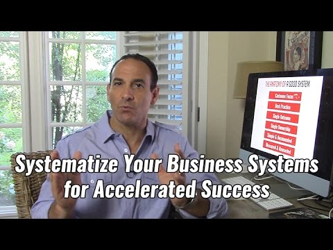 Systematize Your Business Systems for Accelerated Success