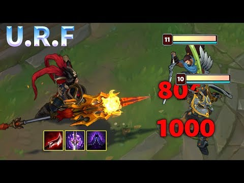 10 Minutes of URF Madness 2019 - League of Legends