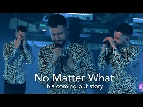 Heartwarming applause makes Calum Scott emotional | No Matter What (видео)