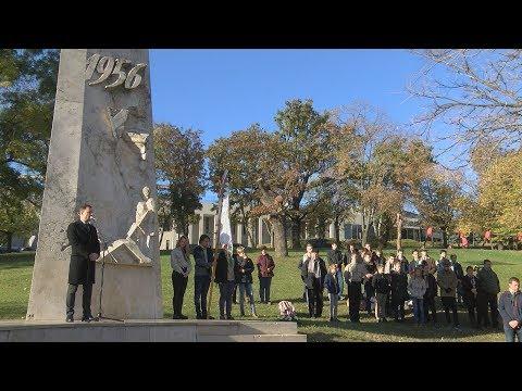 Megemlékezés a Tabáni 56-os emlékműnél 2018 - video preview image