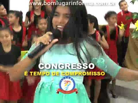 Larissa Melo participação na I noite do Congresso em Bom Lugar-MA