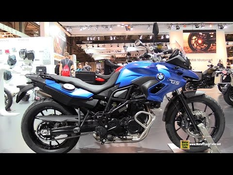 2015 BMW F700GS - Walkaround - 2014 EICMA Milan Motorcycle Exhibition