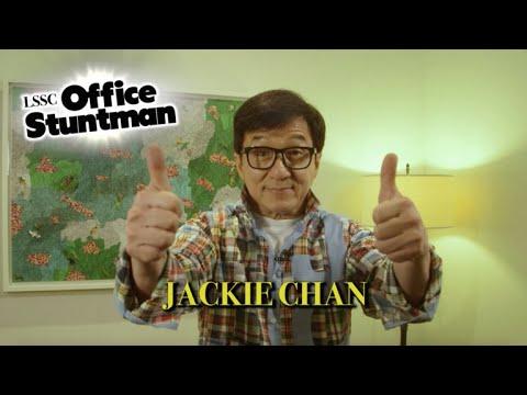 Jackie Chan: Late Show Office Stuntman