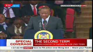 Uhuru Kenyatta: Today marks the end of our electoral process